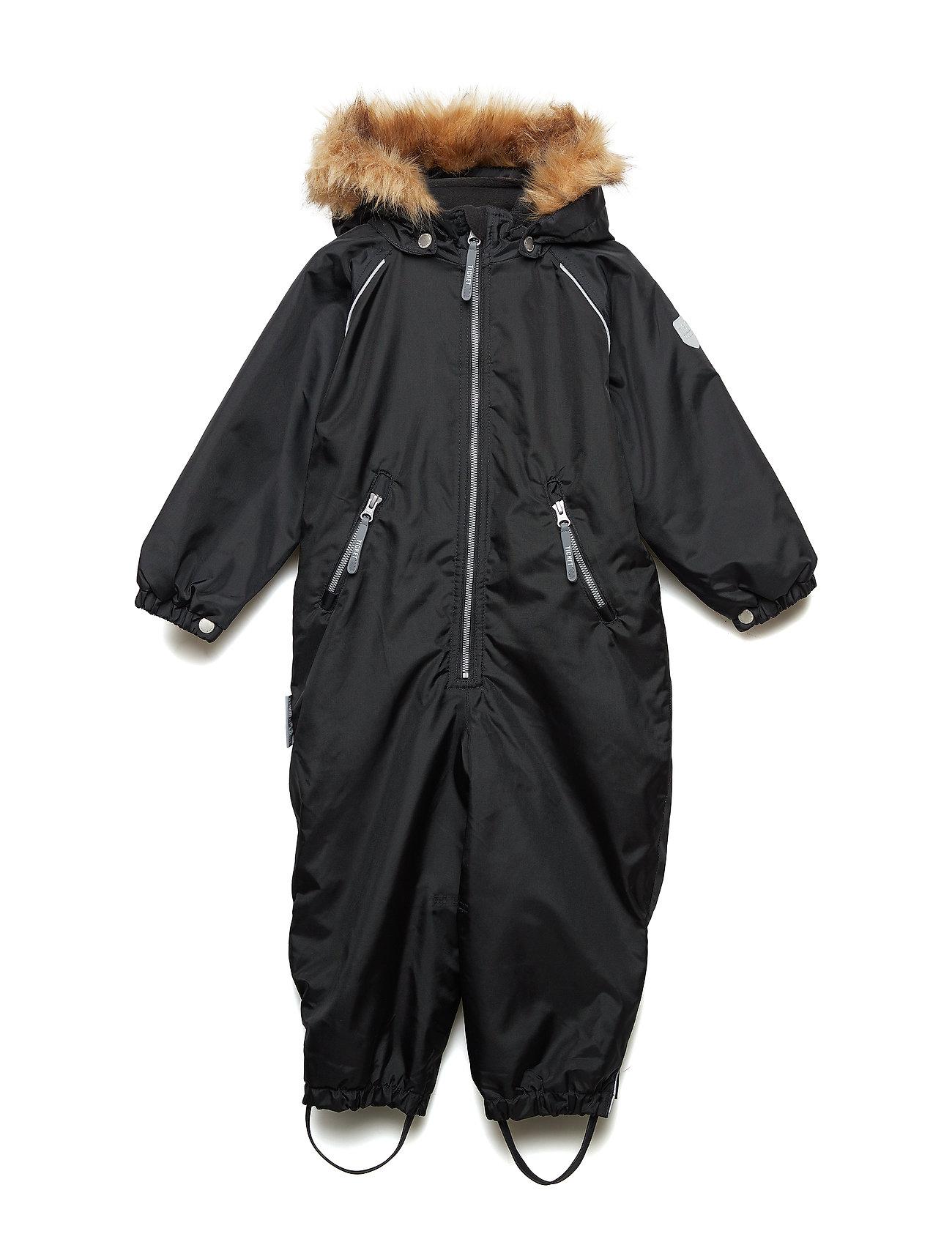 ed4befb4c3e Suit Snowbaggie With Detachable Hood Flyverdragt Overtøj Sort TICKET TO  HEAVEN