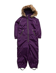 Suit snowbaggie with detachable hood - PARACHUTE PURPLE