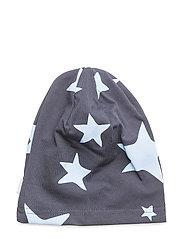 Knit Allover Hat - DELLA ROBBIA BLUE