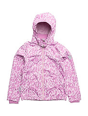 Jacket Mia with detachable hood allover - VIOLET/ROSE