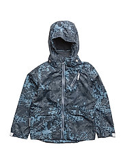 Jacket Kevin with detachable hood allover - TOTAL ECLIPSE