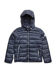 jacket Lightweight Padding Chris with detachable hood - TOTAL ECLIPSE