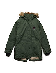 Parka Mary with detachable hood - BLACK FOREST