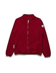 Jacket Fleece Mallory 1/1 sleeves - RUMBA RED