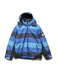 Ski jacket Conrad with detachable hood allover - TOTAL ECLIPSE