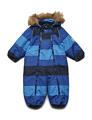 Snowsuit Baggie with detachable hood allover - TOTAL ECLIPSE