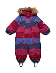 Snowsuit Baggie with detachable hood allover - Y/D STRIPE