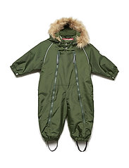 Suit snowbaggie with detachable hood - BLACK FOREST