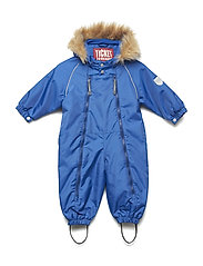 Suit snowbaggie with detachable hood - BLUE LOLITE