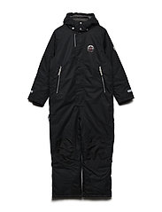 Snow suit Matti with detachable hood - JET BLACK