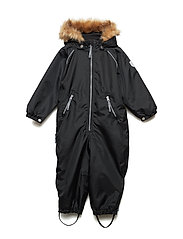 Suit snowbaggie with detachable hood - JET BLACK