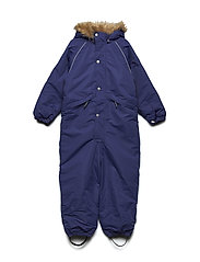 Snowsuit Othello with detachable hood - DEEP WISTERIA