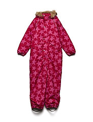 Snowsuit Othello with detachable hood allover - BARBERRY