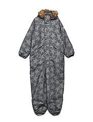 Snowsuit Othello with detachable hood allover - CASTLEROCK