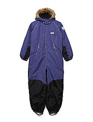 Snow suit Noa with detachable hood - DEEP WISTERIA
