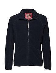TICKET TO HEAVEN Soft Fleece - TOTAL ECLIPSE|BLUE