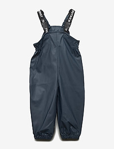 Authentic rubber BIB pant - TOTAL ECLIPSE-BLUE