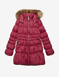 Jacket down Marilyn with detachable hood - RUMBA RED