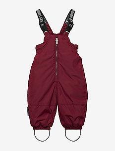Bib pants Alpha - RUMBA RED
