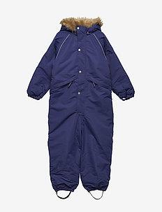 Snowsuit Othello with detachable hood - snowsuit - deep wisteria