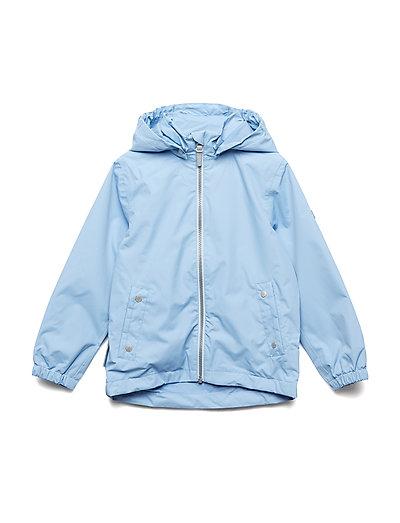 Jacket Maxi with detachable hood - DELLA ROBBIA BLUE