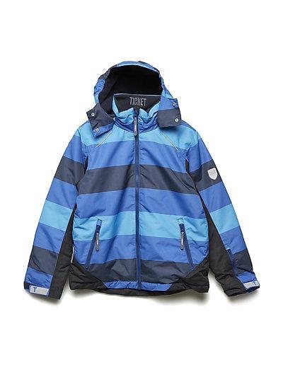 Ski jacket Conrad with detachable hood allover - TOTAL ECLIPSE