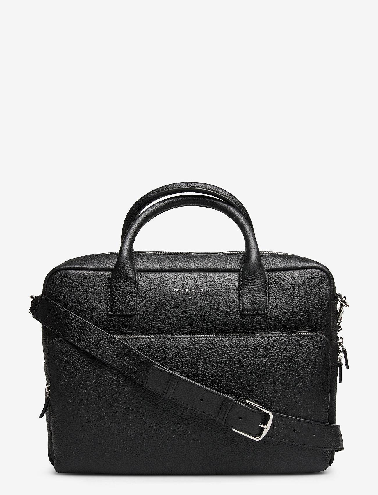 Tiger of Sweden - BANYAN - briefcases - black - 0