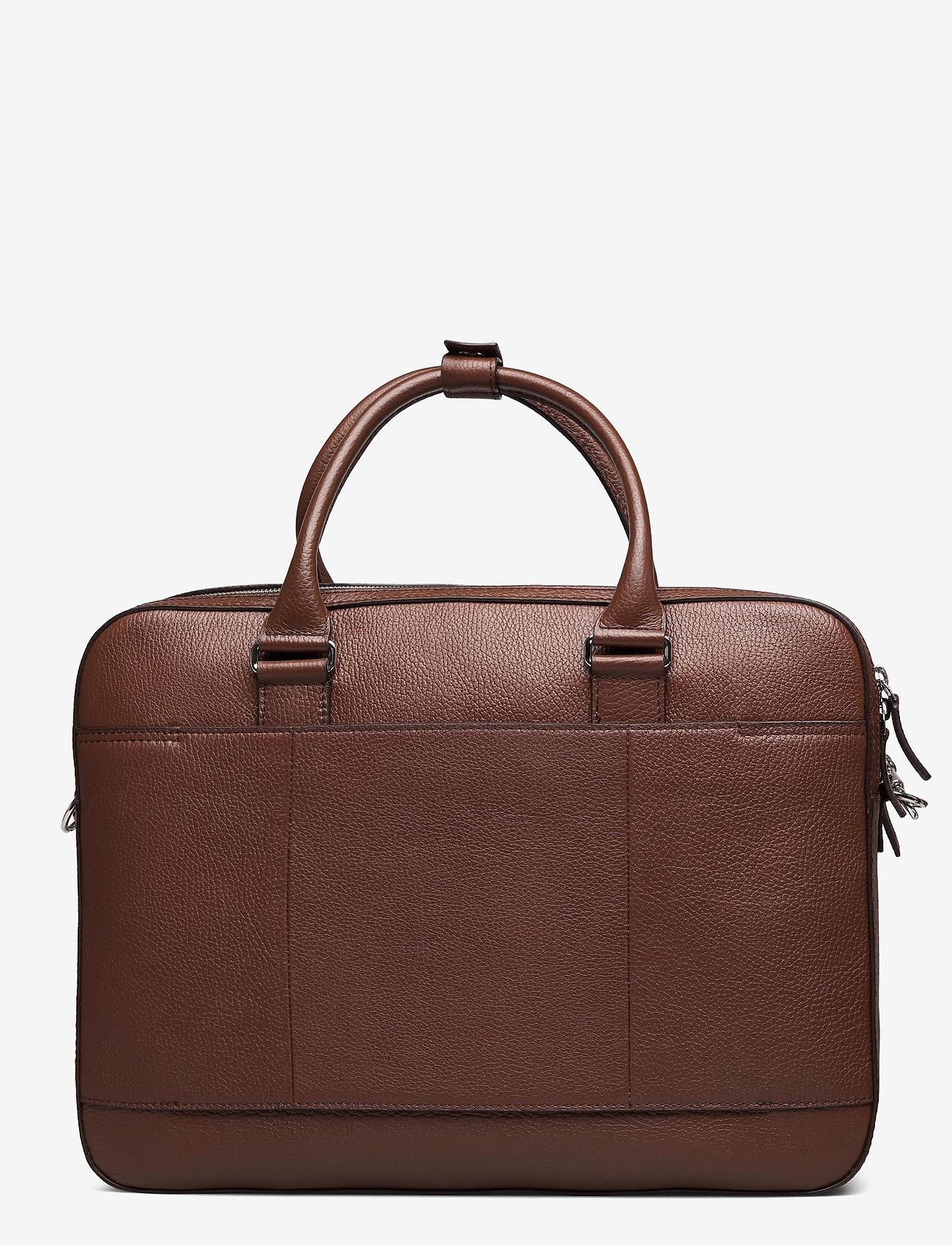 Tiger of Sweden - BURIN - briefcases - cognac - 1