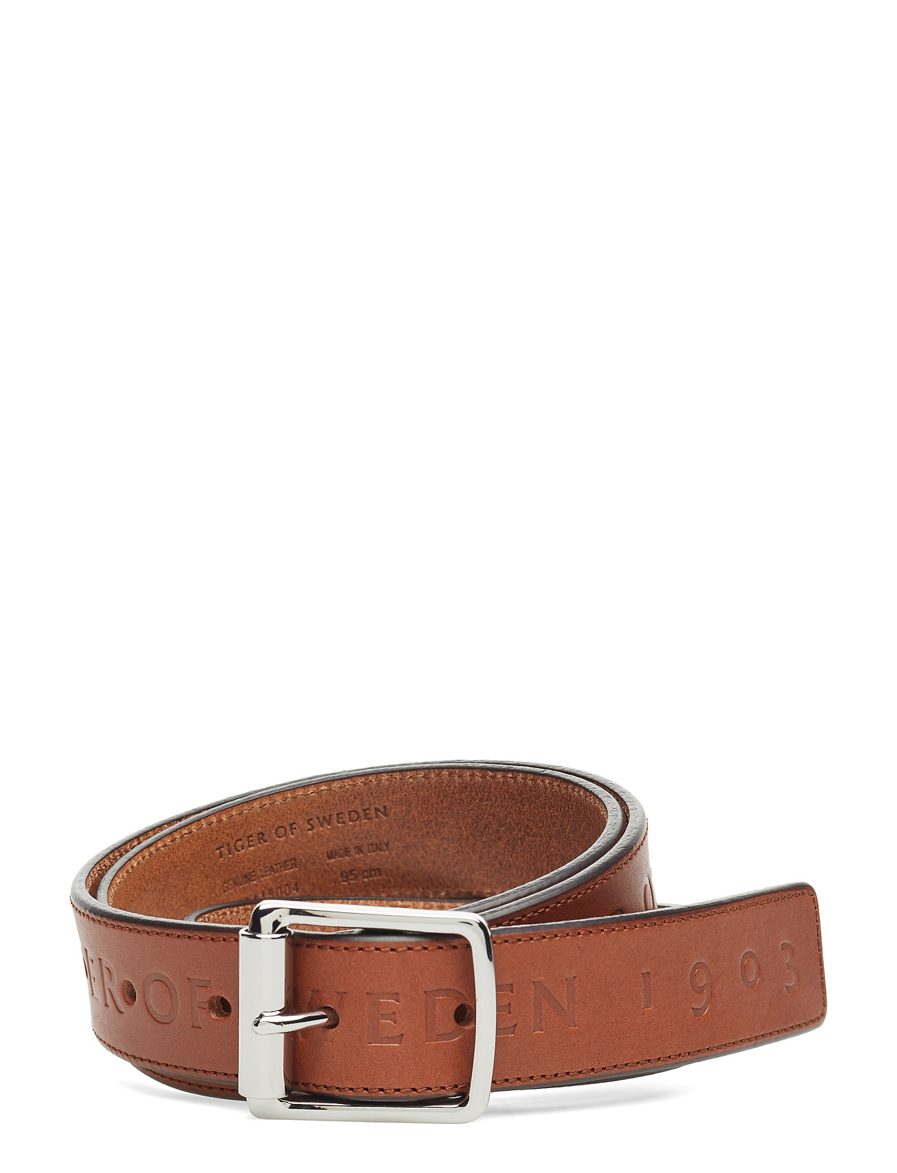 Bevan Accessories Belts Classic Belts Brun TIGER OF SWEDEN