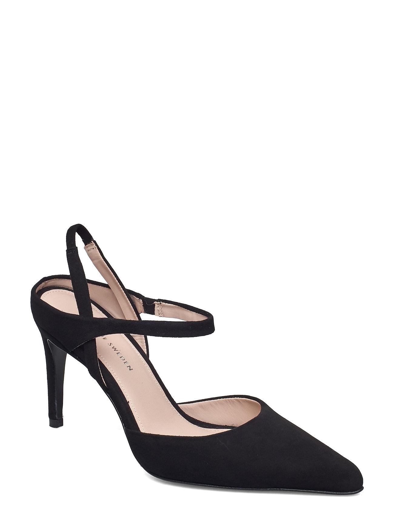Image of Alpiara Shoes Heels Pumps Sling Backs Sort Tiger Of Sweden (3469873735)
