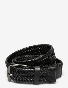BRAIDANT - ceintures tressées - black