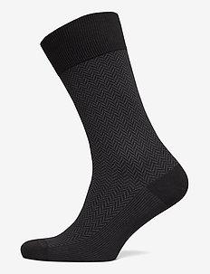 AVELL - vanlige sokker - black