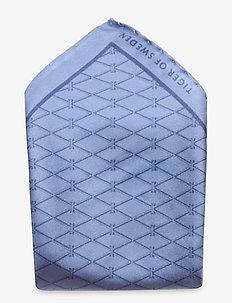 PIGRE - pocket squares - clear blue