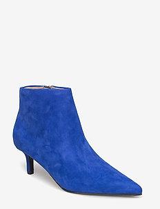 FUSCUS - ankelstøvletter med hæl - pop blue