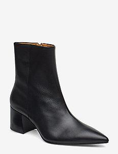 SIRAN - ankelstøvletter med hæl - black