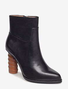 TEUTHIS - ankle boots with heel - black