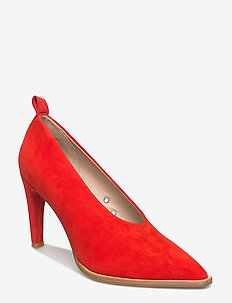 SPENGLER S - classic pumps - bright orange