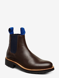 BONN - chelsea boots - dark brown