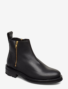 BONNT - flat ankle boots - black