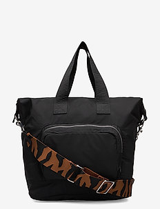 NATA - weekend and gym bags - black