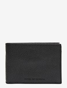 WALD - klassisk lommebok - black