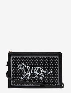 FLOGRENTIA - shoulder bags - black
