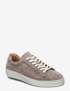 SALAS S - matalavartiset tennarit - light stone grey