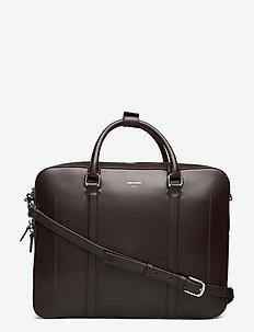 BEEKMAN - laptop bags - dark brown
