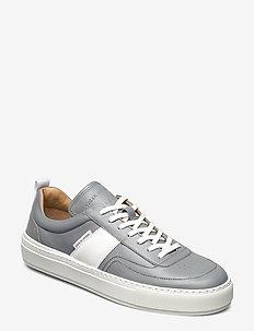SALO - matalavartiset tennarit - light stone grey