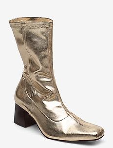 CALLIDE - ankle boots with heel - gold