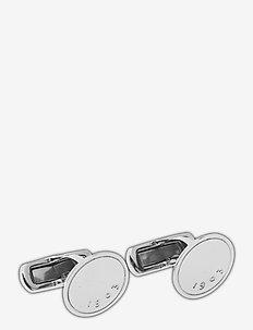 ALDON - spinki - silver