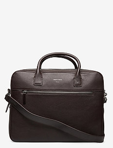 BERIDARE - laptoptassen - dark brown