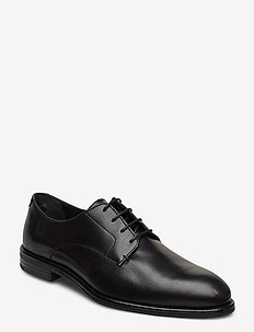 TRENT - veterschoenen - black