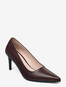 CLINIALA L - klassiske pumps - dark brown